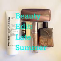 Beauty Edit: Late Summer