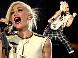 LAS VEGAS, NV - MAY 08:  Singer Gwen Stefani of No Doubt performs onstage during Rock In Rio USA at the MGM Resorts Festival Grounds on May 8, 2015 in Las Vegas, Nevada.  (Photo by Kevin Mazur/Getty Images)