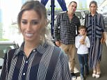 Picture Shows: Stacey Solomon  May 10, 2015\n \n British television presenter Stacey Solomon arrives to the Hoops Aid charity event in London, England, alongside her young son Zachary and her new boyfriend, 'Jackass' star Steve-O.\n \n Non Exclusive\n WORLDWIDE RIGHTS\n \n Pictures by : FameFlynet UK © 2015\n Tel : +44 (0)20 3551 5049\n Email : info@fameflynet.uk.com