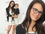 LOS ANGELES, CA - MAY 09:  Actress Jordana Brewster and son Julian Form-Brewster attend Alliance Of Moms Giant Playdate on May 9, 2015 in Los Angeles, California.  (Photo by Lily Lawrence/Getty Images for Alliance of Moms)