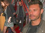 Ryan Seacrest and new girlfriend out  in Los Angeles may 10, 2015 X17online.com