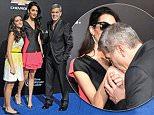 Pictured: George Clooney and wife Amal Alamuddin\nMandatory Credit © Gilbert Flores/Broadimage\nTomorrowland - World Premiere\n\n5/9/15, Los Angeles, CA, United States of America\n\nBroadimage Newswire\nLos Angeles 1+  (310) 301-1027\nNew York      1+  (646) 827-9134\nsales@broadimage.com\nhttp://www.broadimage.com\n