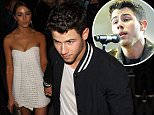 Picture Shows: Olivia Culpo, Nick Jonas  May 10, 2015\n \n Joe and Nick Jonas are seen enjoying dinner at the trendy Craig's Restaurant along with Nick's girlfriend Olivia Culpo in West Hollywood, California. \n \n Non Exclusive\n UK RIGHTS ONLY\n \n Pictures by : FameFlynet UK © 2015\n Tel : +44 (0)20 3551 5049\n Email : info@fameflynet.uk.com