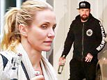 UK CLIENTS MUST CREDIT: AKM-GSI ONLY\nEXCLUSIVE: Brentwood, CA - Cameron Diaz and husband Benji Madden spend the afternoon together in Brentwood. It hasn't even been close to 6-months since Diaz and Madden were married in a top secret Hollywood wedding ceremony, but already they are said to be on the precipice of divorce. According to the latest gossip news updates, the 42-year-old Sex Tape sex-symbol is ready to hurry up and start a family with her 36-year-old beau, but he recently took a job alongside his Good Charlotte twin brother, Joel, on the Australian version of The Voice, just so he wouldn't be have to even talk his wife about pregnant -- never mind actually putting a baby in her svelte belly. While getting cast on a TV show in the Southern Hemisphere might work for now, his wife and a possible trial separation will always be waiting for him back in the States.\n\nPictured: Benji Madden\nRef: SPL1021669  090515   EXCLUSIVE\nPicture by: AKM-GSI / Splash News