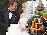 Newly Married Couple --- Image by © Tom Grill/Corbis wedding cake trends