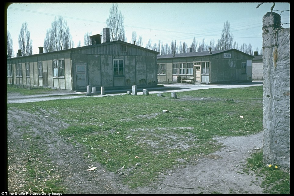 Bleak rows of rundown buildings in Dachau, where 32 barracks housed Jews and other groups persecuted by the Nazis