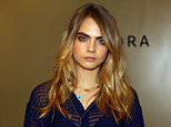 Model Cara Delevingne makes a personal appearance for Sephora + Burberry at Sephora Meatpacking District in New York City, America.      NEW YORK, NY - OCTOBER 21:   (Photo by Astrid Stawiarz/Getty Images for Sephora)