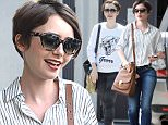 Lily Collins Leaves EarthBar West Hollywood\n\nPictured: Lily Collins\nRef: SPL1022964  110515  \nPicture by: Photographer Group / Splash News\n\nSplash News and Pictures\nLos Angeles: 310-821-2666\nNew York: 212-619-2666\nLondon: 870-934-2666\nphotodesk@splashnews.com\n
