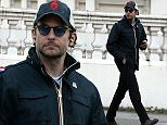 "Picture Shows: Bradley Cooper  May 11, 2015\n \n Bradley Cooper is seen out and about in London ahead of his West End play ""The Elephant Man"".\n \n Non-Exclusive\n WORLDWIDE RIGHTS\n \n Pictures by : FameFlynet UK © 2015\n Tel : +44 (0)20 3551 5049\n Email : info@fameflynet.uk.com"