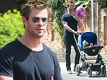 EXCLUSIVE: Chris Hemsworth is spotted out for a walk on a sunny day in London.  Pics taken May 10th.  Pictured: Chris Hemsworth Ref: SPL1020599  100515   EXCLUSIVE Picture by: James Jenkins / Splash News  Splash News and Pictures Los Angeles: 310-821-2666 New York: 212-619-2666 London: 870-934-2666 photodesk@splashnews.com