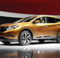 """FILE - In this April 16, 2014 file photo, the 2015 Nissan Murano SUV is introduced at the New York International Auto Show, in New York. Only three of seven midsize SUVs from the 2015 model year performed well in front-end crash tests done by an insurance industry group. The Nissan Murano and Jeep Wrangler four-door got the highest, or """"good,"""" rating in the latest round of Insurance Institute for Highway Safety small overlap crash tests. (AP Photo/Mark Lennihan, File)"""