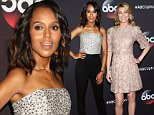 Celebrity arrivals at the 2015 ABC Upfront Presentation in NYC.\n\nPictured: Kerry Washington\nRef: SPL1024015  120515  \nPicture by: Richie Buxo / Splash News\n\nSplash News and Pictures\nLos Angeles: 310-821-2666\nNew York: 212-619-2666\nLondon: 870-934-2666\nphotodesk@splashnews.com\n
