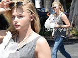 EXCLUSIVE: Actress Chloe Grace Moretz is spotted as she heads to her car after having lunch at the popular Beverly Glen shopping center is Beverly Hills, Ca\n\nPictured: Chloe Grace Moretz\nRef: SPL1023311  110515   EXCLUSIVE\nPicture by: GoldenEye /London Entertainment\n\nSplash News and Pictures\nLos Angeles: 310-821-2666\nNew York: 212-619-2666\nLondon: 870-934-2666\nphotodesk@splashnews.com\n