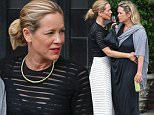 Picture Shows: Clare Munn, Maria Bello  May 11, 2015\n \n Couple, Maria Bello and Clare Munn, are seen waiting for a cab outside The Bowery Hotel in New York City, New York. Maria has spent the last few weeks promoting her new book 'Whatever...Love Is Love'. \n \n Non-Exclusive\n UK RIGHTS ONLY\n \n Pictures by : FameFlynet UK © 2015\n Tel : +44 (0)20 3551 5049\n Email : info@fameflynet.uk.com