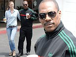 Eddie Murphy and girlfriend Paige Butcher are picuted as they make their regular coffee pilgrimage to Starbucks in the Beverly Glen shopping center in Beverly Hills, Ca  Pictured: Paige Butcher and Eddie Murphy Ref: SPL1023308  110515   Picture by: GoldenEye /London Entertainment  Splash News and Pictures Los Angeles: 310-821-2666 New York: 212-619-2666 London: 870-934-2666 photodesk@splashnews.com