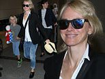 136979, Naomi Watts makes her way through LAX with sons Alexander and Samuel. Los Angeles, California - Monday May 11, 2015. Photograph: © MHD, PacificCoastNews. Los Angeles Office: +1 310.822.0419 sales@pacificcoastnews.com FEE MUST BE AGREED PRIOR TO USAGE