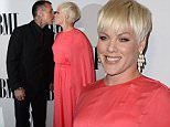 The 2015 BMI Music Awards\n\nPictured: Pink, Carey Hart\nRef: SPL1024101  120515  \nPicture by: Photographer Group / Splash News\n\nSplash News and Pictures\nLos Angeles: 310-821-2666\nNew York: 212-619-2666\nLondon: 870-934-2666\nphotodesk@splashnews.com\n
