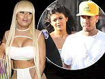 Rapper Tyga's former wife, Blac Chyna celebrated her 27th Birthday at 'Ace Of Diamonds' Strip Club in West Hollywood, CA  Pictured: Blac Chyna Ref: SPL1023610  120515   Picture by: SPW / Splash News  Splash News and Pictures Los Angeles: 310-821-2666 New York: 212-619-2666 London: 870-934-2666 photodesk@splashnews.com