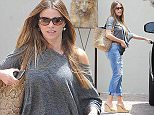 May 11, 2015    'Modern Family' star, Sofia Vergara, is spotted leaving Between The Sheets in Beverly Hills, California after shopping for fine bedroom linens.     It was recently announced that Sofia is teaming up with the social media app Snapchat to launch a reality show called 'Vergaraland.'    Exclusive - All Round  UK RIGHTS ONLY    Pictures by : FameFlynet UK © 2015  Tel : +44 (0)20 3551 5049  Email : info@fameflynet.uk.com
