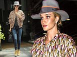 Mandatory Credit: Photo by Startraks Photo/REX Shutterstock (4770424a)  Rosie Huntington-Whiteley  Rosie Huntington-Whiteley out and about, New York, America - 12 May 2015  Rosie Huntington-Whiteley Sighting in Soho