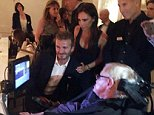victoria beckhamThank you @Google for an inspiring evening, was an honour to meet Stephen Hawking x vb