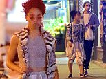 EXCLUSIVE: Robert Pattinson and his rumored fiancee FKA Twigs, were spotted out enjoying dinner and a stroll in Little Italy. They both dressed casually for the outing, as they headed to 'Lovely Day' for their quiet meal. The pair were joined by a friend after the outing, where they headed to a local convenience store. Pattinson bought a box of allergy medication which he didn't wait to open. They later headed back to their hotel.\n\nPictured: Robert Pattinson and FKA Twigs\nRef: SPL1024150  120515   EXCLUSIVE\nPicture by: 247PAPS.TV / Splash News\n\nSplash News and Pictures\nLos Angeles: 310-821-2666\nNew York: 212-619-2666\nLondon: 870-934-2666\nphotodesk@splashnews.com\n