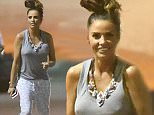 12 May 2015 - ELSTREE - UK *** EXCLUSIVE PICTURES *** KATIE PRICE SEEN ARRIVING AT ELSTREE STUDIOS TO FILM FOR BIG BROTHER BB BOTS. BEFORE MESSING AROUND IN HER PYJAMAS WHILST WAITING FOR HER CAR TO PICK HER UP KATIE WAS SEEN RUNNING AROUND AND JOKING ABOUT WITH HER FRIENDS. SHE WAS ALSO KISSING RYLAN CLARK ON THE LIPS AS THEY CHATTED OUTSIDE THE STUDIOS. KATIE WAS ALSO SEEN PULLING FUNNY FACES FOR SELFIES WITH EX CONTESTANT WINSTON. BYLINE MUST READ : XPOSUREPHOTOS.COM ***UK CLIENTS - PICTURES CONTAINING CHILDREN PLEASE PIXELATE FACE PRIOR TO PUBLICATION *** **UK CLIENTS MUST CALL PRIOR TO TV OR ONLINE USAGE PLEASE TELEPHONE  442083442007