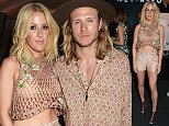 LONDON, ENGLAND - MAY 13:  Ellie Goulding (L) and Dougie Poynter attend The NET SET powered by NET-A-PORTER.COM launch party on May 13, 2015 in London, England.  (Photo by David M. Benett/Getty Images for NET-A-PORTER.COM)