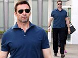 Mandatory Credit: Photo by Startraks Photo/REX Shutterstock (4767232c).. Hugh Jackman.. Hugh Jackman out and about, New York, America - 11 May 2015.. Hugh Jackman spotted leaving his apartment..