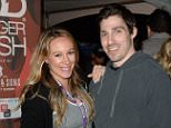 ***MANDATORY BYLINE TO READ INFPhoto.com ONLY***..A pregnant Haylie Duff and fiance Matt Rosenberg attend the annual Amstel Light Burger Bash as part of the South Beach Wine and Food Festival in Miami Beach, Florida.....Pictured: Haylie Duff; Matt Rosenberg..Ref: SPL957083  200215  ..Picture by: INFphoto.com....