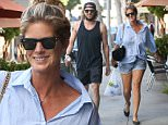 Beverly Hills, CA - Former model Rachel Hunter and her son, Hockey player Liam Stewart, stop by a pharmacy in the 90210 area, after spending Mother's Day together.\nAKM-GSI       May 11, 2015\nTo License These Photos, Please Contact :\nSteve Ginsburg\n(310) 505-8447\n(323) 423-9397\nsteve@akmgsi.com\nsales@akmgsi.com\nor\nMaria Buda\n(917) 242-1505\nmbuda@akmgsi.com\nginsburgspalyinc@gmail.com