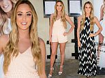 Geordie Shore star Charlotte Crosby launches her new summer fashion collection in Soho with online fashion brand In The Style Featuring: Charlotte Crosby Where: London, United Kingdom When: 13 May 2015 Credit: Joe/WENN.com *****please credit Joe/WENN*****