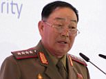 This photo taken on April 16, 2015 shows North Korean Defence Minister Hyon Yong-Chol during a speech and the 4th International Security Conference organized by the Russian Ministry of Defense at the Radisson Royal Hotel in Moscow.  North Korean Defence Minister Hyon Yong-Chol has been executed by anti-aircraft fire for disloyalty and showing disrespect to leader Kim Jong-Un, South Korea's intelligence agency said on May 13, 2015.      REPUBLIC OF KOREA OUT  -- NO ARCHIVES  -- NO INTERNET  -- RESTRICTED TO SUBSCRIPTION USE  ---  AFP PHOTO / YONHAPYONHAP/AFP/Getty Images