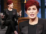 LATE NIGHT WITH SETH MEYERS -- Episode 204 -- Pictured: (l-r) Media personality Sharon Osbourne during an interview with host Seth Meyers on May 11, 2015 -- (Photo by: Lloyd Bishop/NBC/NBCU Photo Bank via Getty Images)