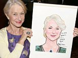 NEW YORK, NY - MAY 12:  Helen Mirren attends her caricature unveiling  at Sardi's on May 12, 2015 in New York City.  (Photo by Walter McBride/Getty Images)
