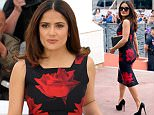 """14 May 2015 - Cannes - France  Salma Hayek attends the """"Tale of Tales"""" Photocall during 68th Cannes Film Festival 2015   BYLINE MUST READ : XPOSUREPHOTOS.COM  ***UK CLIENTS - PICTURES CONTAINING CHILDREN PLEASE PIXELATE FACE PRIOR TO PUBLICATION ***  **UK CLIENTS MUST CALL PRIOR TO TV OR ONLINE USAGE PLEASE TELEPHONE  44 208 344 2007 ***"""