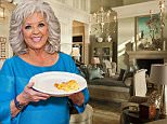 """See inside Paula Deen's newly listed Georgia home\nCelebrity chef Paula Deen is asking $12.5 million for the Savannah, Georgia estate where she cooked up her Food Network shows.\nThe nearly 4-acre riverfront acreage, called """"Riverbend,"""" is set up like a private resort with an outdoor kitchen, a pond and a swimming pool with a dive-in theater.\nIt boasts a French Caribbean-style main house, two guest cottages, a dock house and a barn with an 8-car garage. Altogether, the 2009 estate includes eight bedrooms and nine baths across 28,000 square feet of living space."""