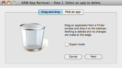 RAW App Remover