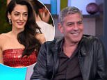 """George Clooney Discusses """"Tomorrowland"""""""