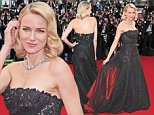 """CANNES, FRANCE - MAY 14:  Naomi Watts attends the """"Mad Max : Fury Road""""  Premiere during the 68th annual Cannes Film Festival on May 14, 2015 in Cannes, France.  (Photo by Dominique Charriau/WireImage)"""
