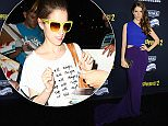 Pictured: Anna Kendrick\nMandatory Credit � Gilbert Flores/Broadimage\nPitch Perfect 2 - World Premiere\n\n5/8/15, Los Angeles, CA, United States of America\n\nBroadimage Newswire\nLos Angeles 1+  (310) 301-1027\nNew York      1+  (646) 827-9134\nsales@broadimage.com\nhttp://www.broadimage.com\n