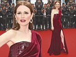 epa04748300 US actress Julianne Moore arrives for the screening of 'Mad Max: Fury Road' during the 68th annual Cannes Film Festival, in Cannes, France, 14 May 2015. The movie is presented out of competition at the festival which runs from 13 to 24 May.  EPA/FRANCK ROBICHON