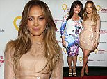 Jennifer Lopez, official spokesperson for Children's Miracle Network Hospitals, attends an LA event to raise awareness about how donations help children's hospitals provide the best care for kids.   Pictured: Jennifer Lopez and marie osmond Ref: SPL1024965  140515   Picture by: Childrens Miracle Network/Corbis  Splash News and Pictures Los Angeles: 310-821-2666 New York: 212-619-2666 London: 870-934-2666 photodesk@splashnews.com