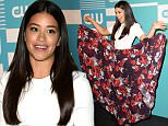 Celebrity arrivals at the 2015 CW Upfront Presentation in NYC.\n\nPictured: Gina Rodriguez\nRef: SPL1025412  140515  \nPicture by: Richie Buxo / Splash News\n\nSplash News and Pictures\nLos Angeles: 310-821-2666\nNew York: 212-619-2666\nLondon: 870-934-2666\nphotodesk@splashnews.com\n