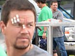 EXCLUSIVE: Mark Wahlberg sports cuts and stitches on his face for scenes in new movie Deepwater Horizon in New Orleans. The actor is playing oil rig worker Mike Williams who became the face of the Deepwater Horizon oil rig disaster in 2010.\n\nPictured: Mark Wahlberg\nRef: SPL1023879  130515   EXCLUSIVE\nPicture by: Splash News\n\nSplash News and Pictures\nLos Angeles: 310-821-2666\nNew York: 212-619-2666\nLondon: 870-934-2666\nphotodesk@splashnews.com\n