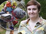 EXCLUSIVE: Lena Dunham spends her birthday working on the set of her HBO series 'Girls', presently filming on location in the Riverdale section of New York City on May 13, 2015. While on set Dunham received a bouquet of birthday balloons via delivery van.\n\nPictured: Lena Dunham\nRef: SPL1024921  130515   EXCLUSIVE\nPicture by: AR Photo/Splash News\n\nSplash News and Pictures\nLos Angeles: 310-821-2666\nNew York: 212-619-2666\nLondon: 870-934-2666\nphotodesk@splashnews.com\n