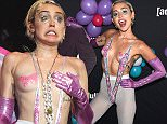 NEW YORK, NY - MAY 13:  Miley Cyrus attends the 2015 Adult Swim Upfront Party at Terminal 5 on May 13, 2015 in New York City. 25515_002_537.JPG  (Photo by Dimitrios Kambouris/Getty Images for Tuner)