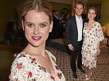 LONDON, ENGLAND - MAY 14:  Alice Eve (R) and husband Alex Cowper-Smith attend the St Regis Midnight Supper at Colefax & Fowler on May 14, 2015 in London, England.  \n\nPic Credit: Dave Benett\n\n