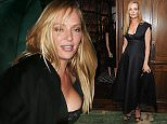 """LONDON, ENGLAND - MAY 14:  Uma Thurman attends the """"Icons of Style"""" dinner hosted by Michael Kors and Vanity Fair on May 14, 2015 in London, United Kingdom.  (Photo by David M. Benett/Getty Images for Michael Kors)"""