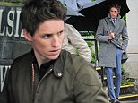 14.MAY.2015  - LONDON  - UK *** EXCLUSIVE ALL ROUND PICTURES *** BRITISH HEART THROB EDDIE REDMAYNE SPOTTED FILMING IN HAMPSTEAD FOR A BURBERRY ADVERT AS HE APPEARS TO BE SHOWING OFF THE LARGE STYLISH WATCH ON HIS WRIST AND SPORTING SOME SUAVE BURBERRY CLOTHES. BYLINE MUST READ : XPOSUREPHOTOS.COM ***UK CLIENTS - PICTURES CONTAINING CHILDREN PLEASE PIXELATE FACE PRIOR TO PUBLICATION *** **UK CLIENTS MUST CALL PRIOR TO TV OR ONLINE USAGE PLEASE TELEPHONE  442083442007
